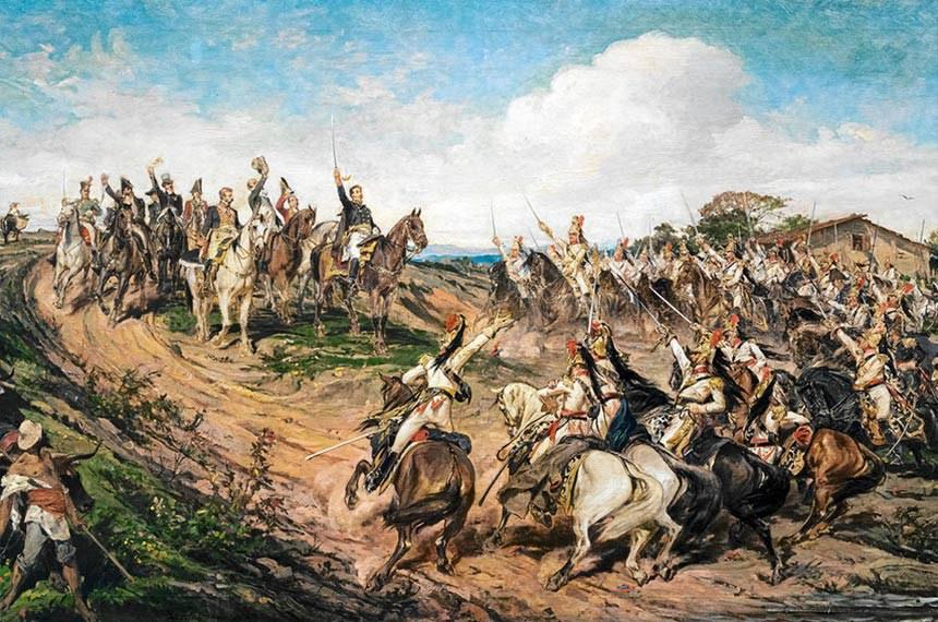 """Quadro """"Independência ou Morte"""", pintado por Pedro Américo em 1888"""