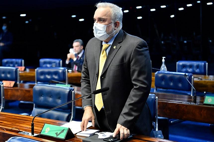 """O senador Jean Paul Prates (PT-RN) argumentou que o dispositivo vetado compensa a """"má vontade"""" que têm sido demostrada com o emprego de recursos do Fust"""