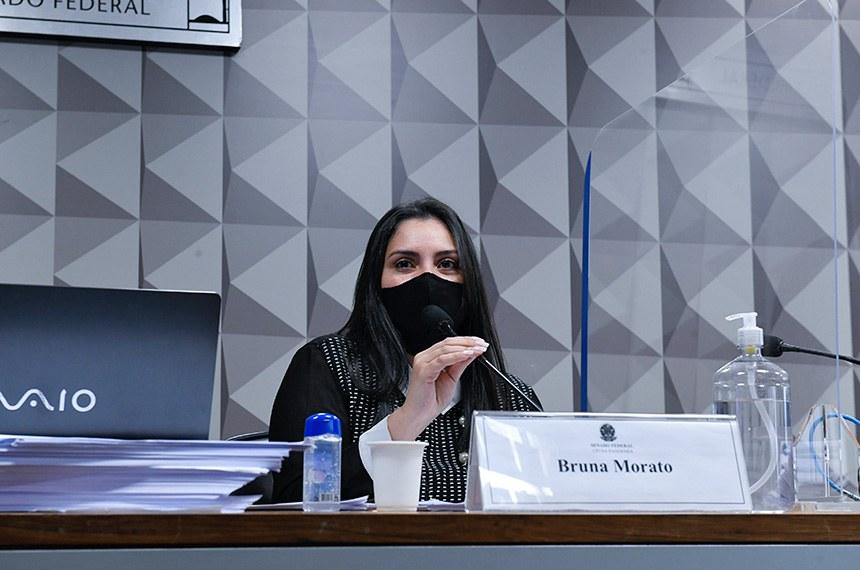 Bruna Morato, advogada que representa 12 médicos da Prevent Senior, é a responsável por ajudar médicos a elaborar um dossiê com denúncias envolvendo a empresa
