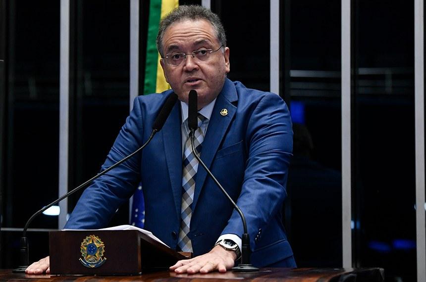 O senador é o relator da PEC 110/2019, que trata da reforma tributária