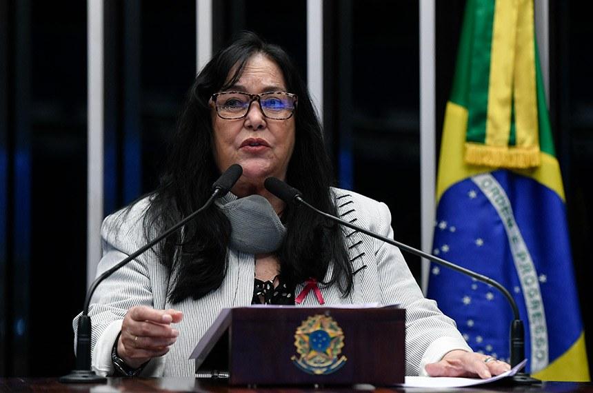 O projeto foi relatado pela senadora Rose de Freitas