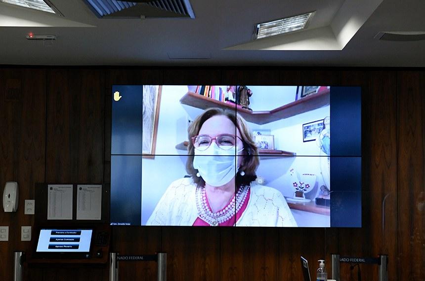A senadora Zenaide Maia (PROS-RN) leu o relatório na reunião e afirmou que o projeto é uma ferramenta de empoderamento feminino
