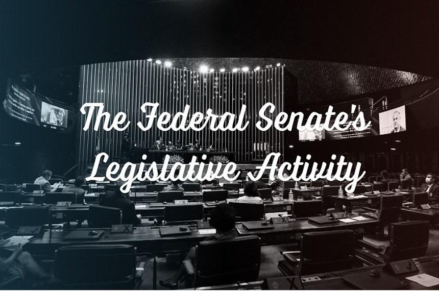 """Versão em inglês da página inicial do """"Entenda a Atividade Legislativa"""""""