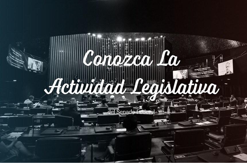 """Versão em espanhol da página inicial do """"Entenda a Atividade Legislativa"""""""