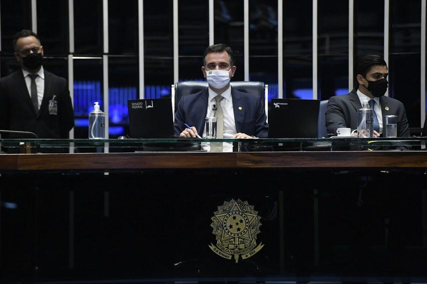 """Para o presidente Rodrigo Pacheco (DEM-MG), Levindo Coelho foi um homem público exemplar, """"líder humanista, conciliador e de firme postura ética"""""""