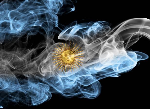 Argentina smoke flag