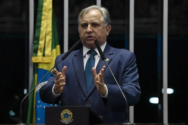 Plenário do Senado Federal durante sessão deliberativa ordinária. \r\rEm discurso, à tribuna, senador Izalci (PSDB-DF).\r\rFoto: Jefferson Rudy/Agência Senado