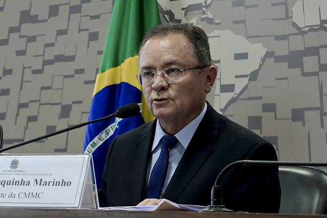 Comissão Mista Permanente sobre Mudanças Climáticas (CMMC) realiza reunião para apresentação do relatório anual das atividades desenvolvidas pela comissão (art. 9ª, parágrafo único, Res. nº 4/2008-CN). \r\rÀ mesa, presidente da CMMC, senador Zequinha Marinho (PSC-PA).\r\rFoto: Waldemir Barreto/Agência Senado