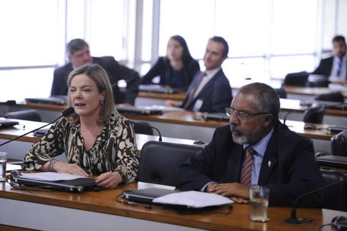 Comissão de Direitos Humanos e Legislação Participativa (CDH) realiza   Foto: Edilson Rodrigues/Agência Senado
