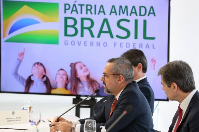 (Brasília - DF, 22/04/2020) - Reunião com Vice-Presidente da República, Ministros e Presidentes de Bancos. Foto: Marcos Corrêa/PR