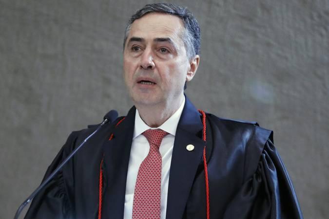 Ministro Roberto Barroso durante Cerimônia de posse como presidente do TSE. Brasília-DF, 25/05/2020 Foto: Roberto Jayme/ASCOM/TSE