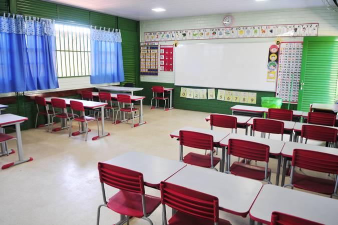 Sala de aula.