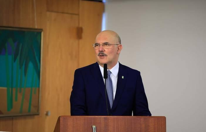 Ministro da Educação, Milton Ribeiro.
