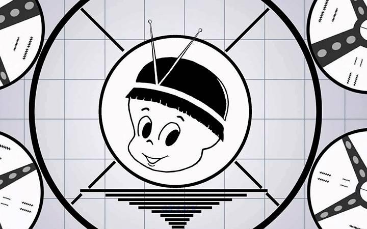 Logo da TV Tupi.