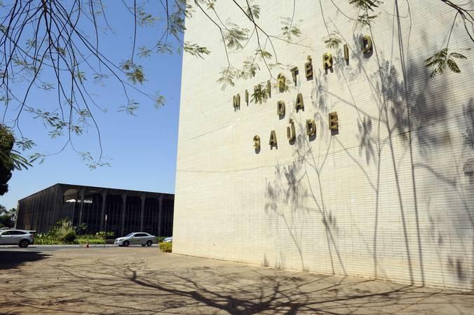 Fachada do Ministério da Saúde (MS).  Foto: Marcos Oliveira/Agência Senado