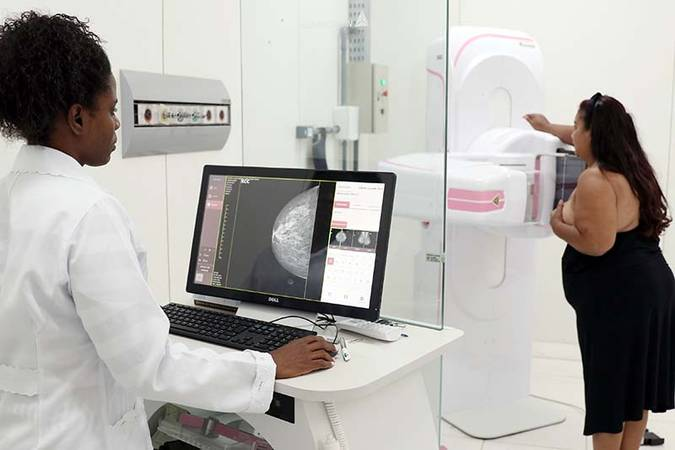 Mamografia.