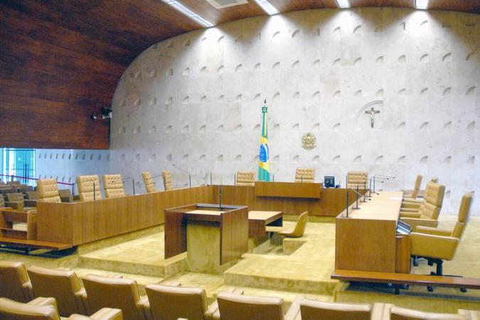 Plenário do Supremo.