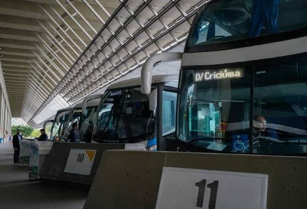 Ônibus interestadual.