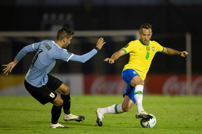 Brasil x Uruguai.