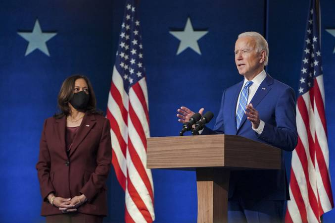 Estados Unidos 07 11 2020 Joe Biden é eleito o 46 presidente dos Estados Unidos foto Twitter Biden