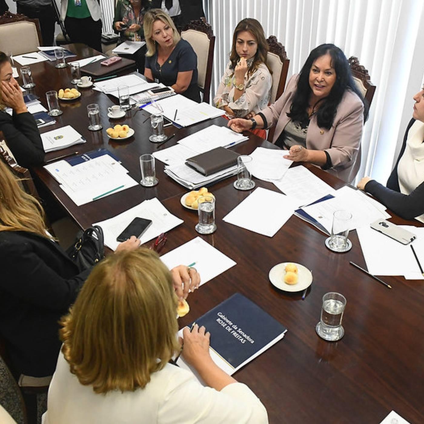 Projeto garante participação da bancada feminina no Colégio de Líderes do Senado