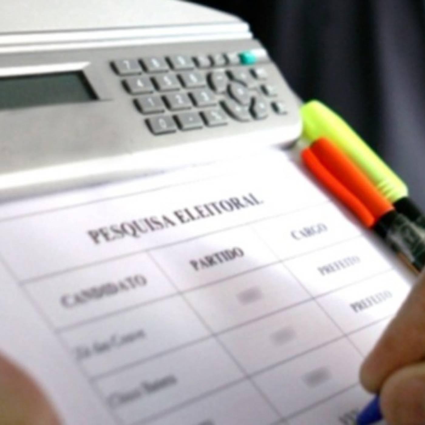 Projeto proíbe pesquisas eleitorais até um mês antes da eleição